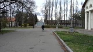 Уроки езды на велосипеде. Ярослав.