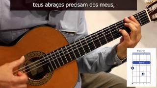 """Como tocar """"Samba em prelúdio"""" de Vinícius de Moraes/Baden Powell / How to play """"Samba em preludio"""""""