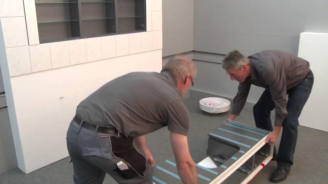 burgbad: montage-film rc 40 aufsatz-waschbecken - youtube
