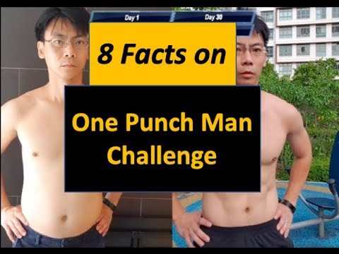 Saitama Training Before After - 8 Facts on One Punch Man Challenge - YouTube