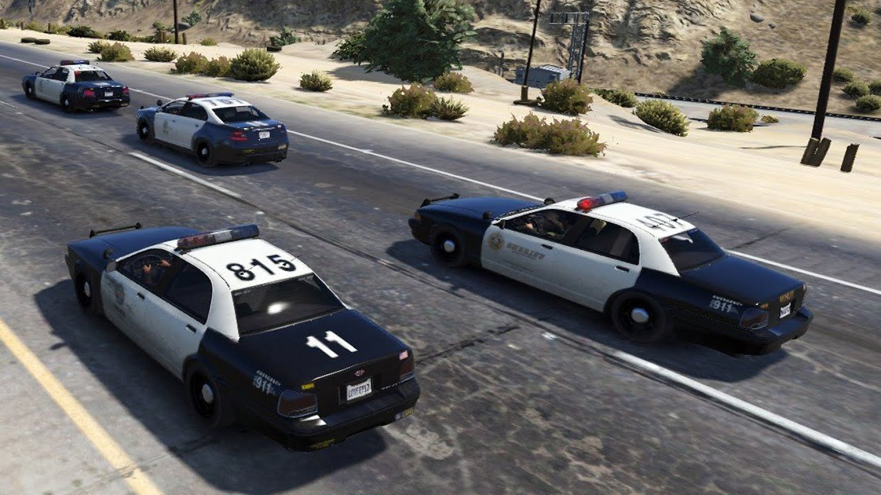 GTA 5 - Jogando como Policial!? (GTA V PC Gameplay - MOD LSPDFR)