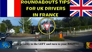 Driving Tips and Rules For Roundabouts in France, Belgium and Europe