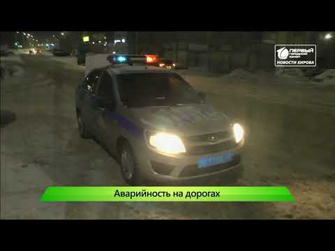Дороги в Кирове не безопасны  Новости Кирова 28 01 2020