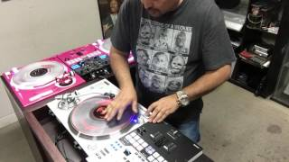 Technics 1200 GAE test run