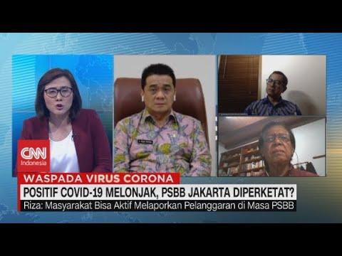 Positif Covid 19 Melonjak Psbb Jakarta Diperketat Youtube