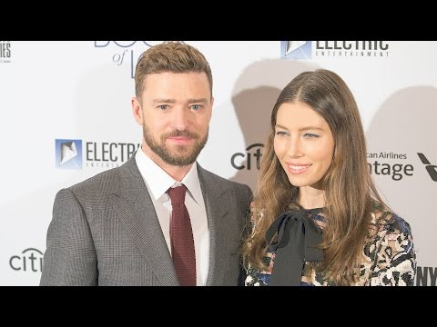 Justin Timberlake and Jessica Biel Dazzle on the...