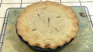 Sweetened Pie Crust