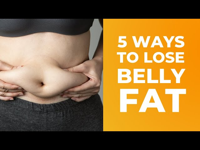 Five Simple Things to Do to Lose Your Belly Fat  ( Great Tips for Belly Fat)