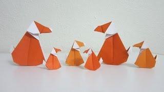 Tutorial - Origami Muttley Dog