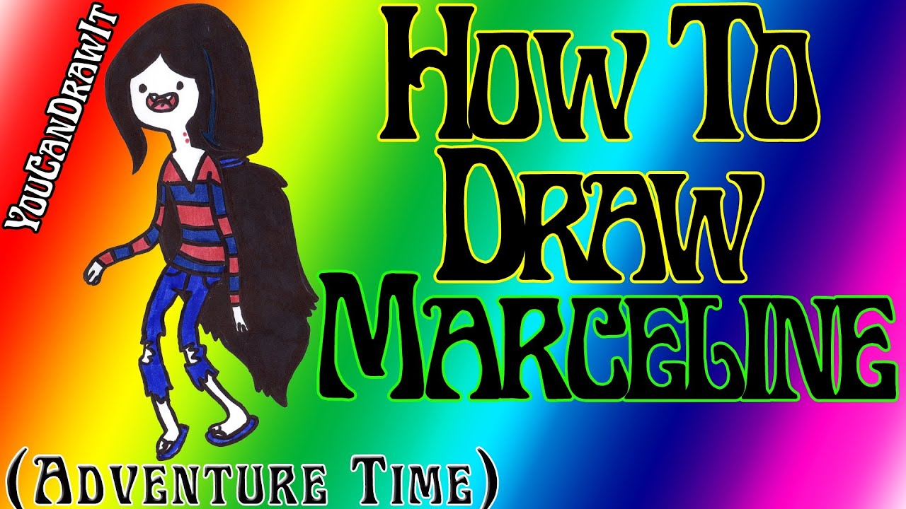 How To Draw Marceline from Adventure Time YouCanDrawIt ツ ...