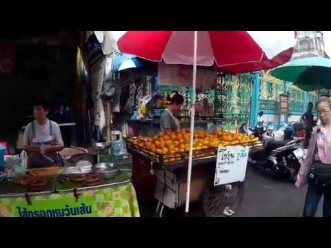 Walking Silom Soi 20 Street for Breakfast
