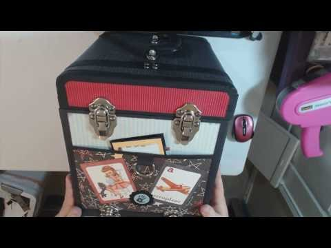 Authentique Studious Keepsake & Tokens Trunk