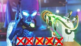 ZOMBIES IN SPACELAND EASTER EGG - NO PERKS BOSS FIGHT ATTEMPT EASTER EGG! (Infinite Warfare Zombies)