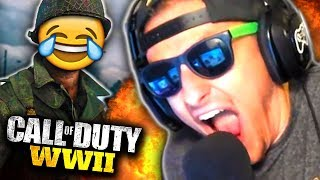 SCREAMING LIKE I'M ACTUALLY IN THE WAR ON CALL OF DUTY! *Hilarious Reactions!*   Best In Class
