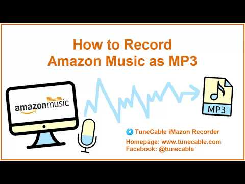 How to Record Amazon Music as MP3