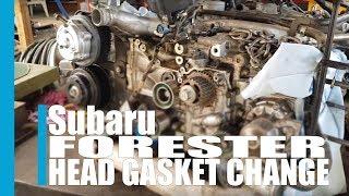 Subaru forester turbo head gasket change 2009