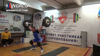 ЗАХАРОВ/ZAKHAROV (69) 85-90-93/110-115-120. Moscow- Grif club competitions/30.12.2018