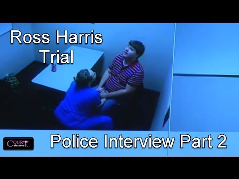 Ross Harris Trial Day 12 Part 4 Harris Police Interview FIXED SOUND 102116