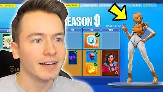 SEASON 9 IS HERE !! BUY BATTLE PASS + NEO TILTED ! Fortnite