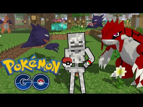 Thumbnail: Monster School: Playing Pokemon GO - Minecraft Animation