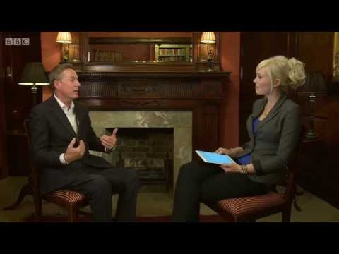 Vicky Beeching interviews Frank Gardner for BBC1's Sunday Morning Live