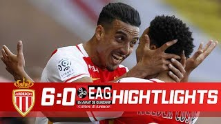 Monaco vs Toulouse 6:0 - Highlights & Goals - 04 November 2017