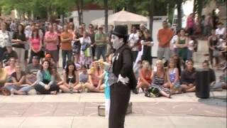 Hilarious Charlie Chaplin Impersonator thumbnail