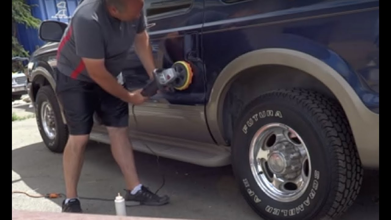 How To Buff A Car >> How To Car Polish Buff A Car Automotive Tutorial Buffing Video