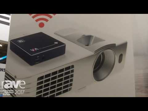 ISE 2017: Kramer Features New VIA Go Wireless Presentation Device