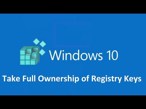how to take ownership permission of a registry key in windows 10 - Howtosolveit