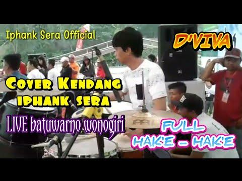 Via Vallen - Akad ( Payung Teduh ) - Cover Kendang Iphank Sera ft D'Viva Live Wonogiri 2017