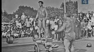 """АТЛЕТИЧЕСКАЯ ПОЭМА"" НОВАКА. ВДНХ. 1967 год. The strength performance of Novaks - THE ATHLETIC POEM"