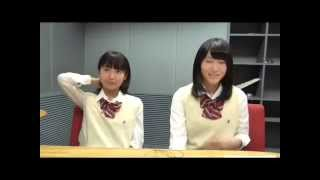 SKE48 150422 惣田紗莉渚vs野口由芽