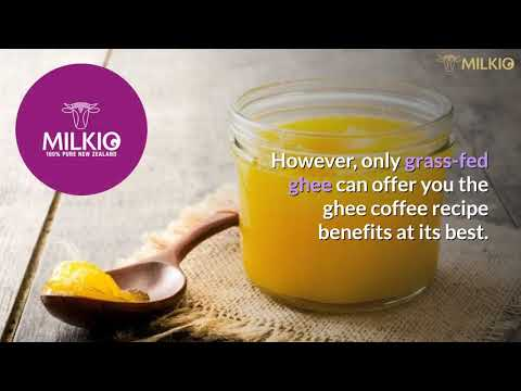 Ghee coffee recipe: A natural way to weight loss