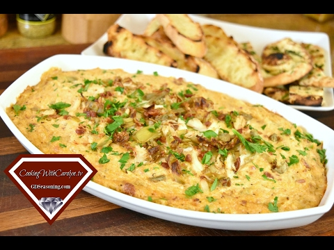 Warm Crab, Artichoke and Bacon Dip Recipe |Cheesecake Factory For What? |Super Bowl Party Recipe