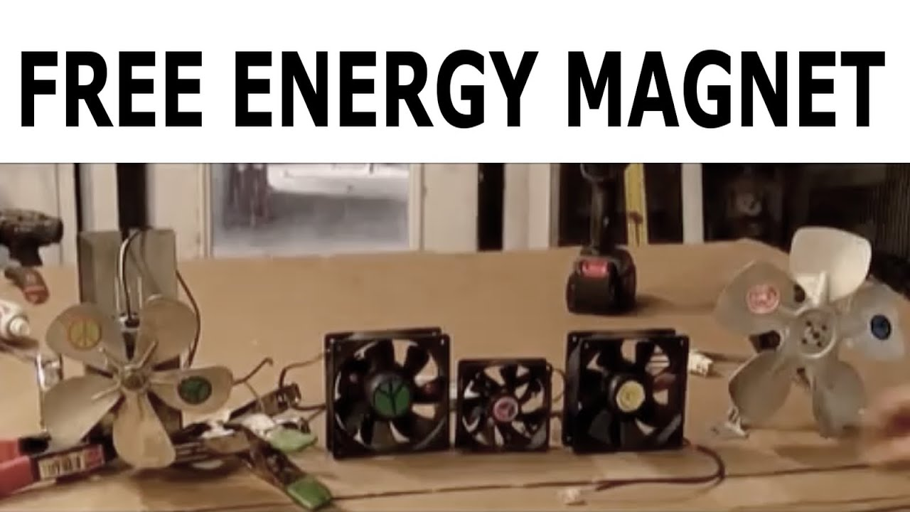 Free Energy Magnet Motor fan usings Free Energy Generator ...