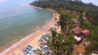 Arugam bay Surfing via Drone