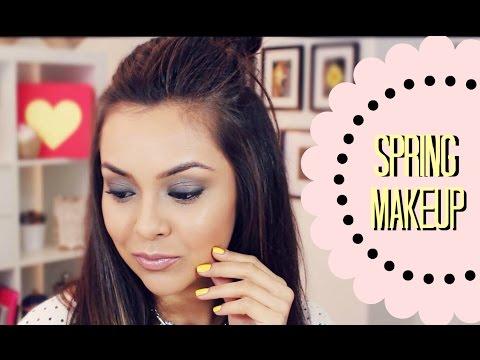 Spring Smokey Eye Makeup Tutorial Using The Balm Cosmetics - TrinaDuhra