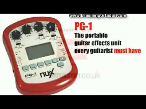 Pedal Nux PG 1 Portable Guitar Effects - Brasilimportador.com