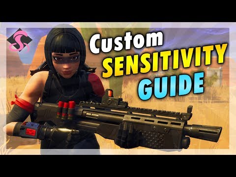 How to Manually CUSTOMIZE your Sensitivity on PC Guide - Fortnite Battle Royale