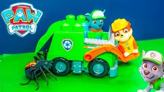 PAWPATROL Nickelodeon Ionix JR Rocky Recycling Truck New Toys Surprise Video