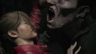 Resident Evil 2 Remake  NEW Gameplay Demo Claire Redfield Fighting licker 2019(Upcoming Zombie Game