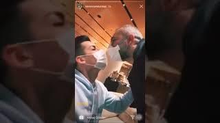 Kerimcan Durmaz Var Dendi İsviçre Corona Venettağğhh Maske Önlemi !! Farklı Tokalaşma Önlemi