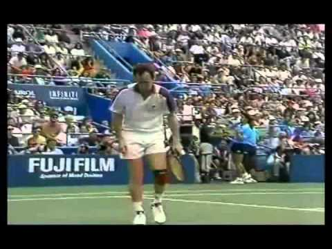 Jim Courier vs McEnroe - US Open 1992