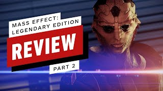 Mass Effect Legendary Edition Review, Part 2 - Mass Effect 2 (Video Game Video Review)