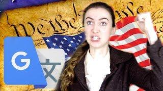 google translate destroys america