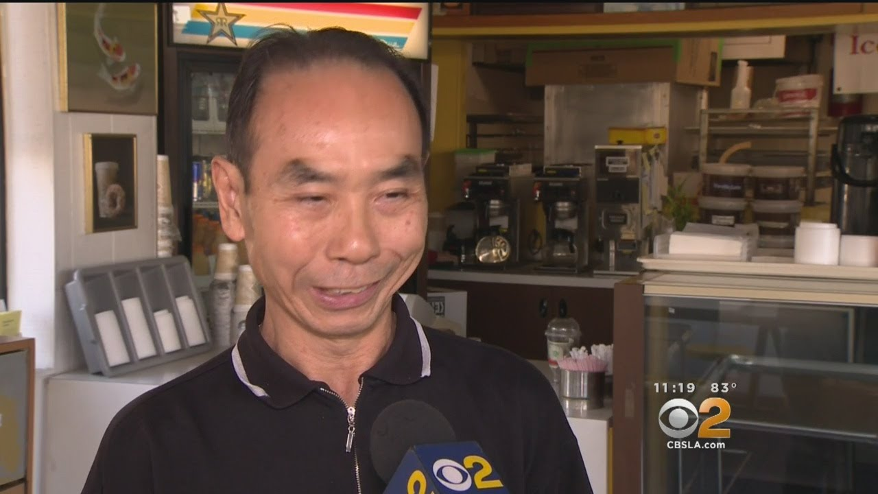 'I Feel Grateful': Wife Back Behind Counter Of Seal Beach Doughnut ...