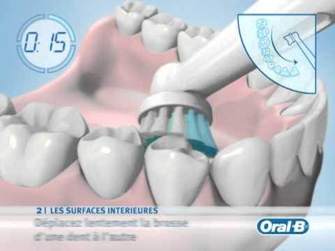 oral b brosse a dents soin dentaire vid o produit. Black Bedroom Furniture Sets. Home Design Ideas