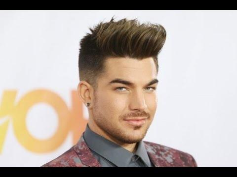 adam lambert hairstyle