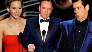 7 Best Presenter Moments 2014 Oscars - John Travolta, Jennifer Lawrence & More